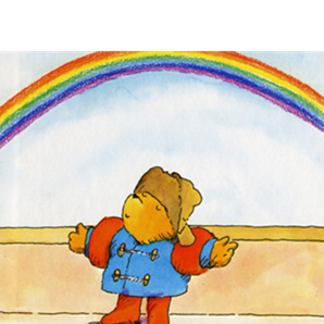 Paddington 2 rainbow