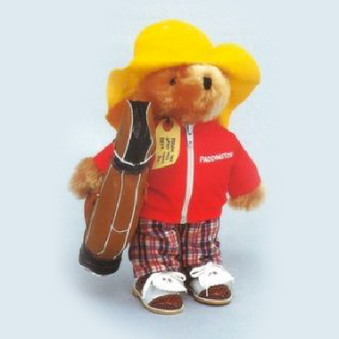 bear toy golf